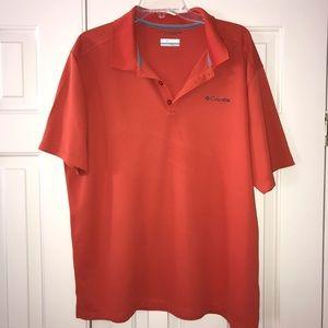 EUC Columbia Sportswear Polo Size XL.